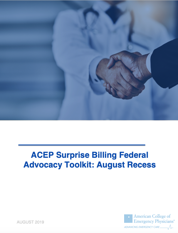 August Recess Toolkit Cover